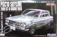 Fujimi 1/24 Nissan PGC10 Skyline 2000GT-R 4Dr.'1969 / 1970 model kit