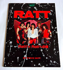 RATT Renegade Angels JAPAN VIVA ROCK SPECIAL ISSUE PHOTO BOOK 1986