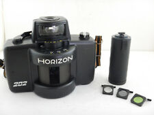 Horizon 202 35mm Panoramic Film Camera + GRIP + Filters +Cable Release Excellent