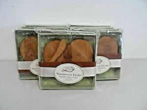 Job Lot of 9 x New Kate Aspen Bamboo Heart Cheese Boards   B66