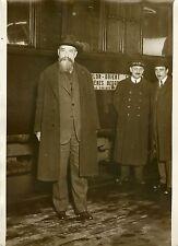 """Mr JORGA (Arrivée GARE DE LYON 1931)"" Photo originale G.DEVRED (Agce ROL)"