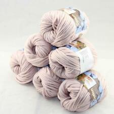 SALE Special Thick Chunky 100% Cotton Shawl Scarf Hand Knit Yarn 6 BallsX50gr 08