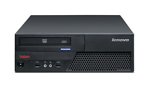 Cheap Fast Lenovo PC Computer with 4GB RAM 250GB HDD Windows 10 Professional