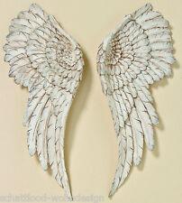 xl Wandobjekt 2er Set Engelsflügel weiß groß Flügel Wings Wanddeko Wandhänger