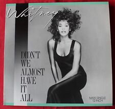 Whitney Houston, didn't we almost have it all, Maxi vinyl