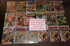GRAB BAG 1 Marvel DC Silver Golden Age Comic Avengers X-men Spider-Man Batman