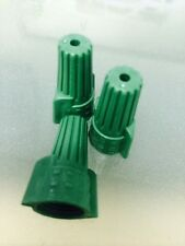 (1000 pc) Green (P11) Double Winged Nut Wire Connectors Grounding Ground TWIST