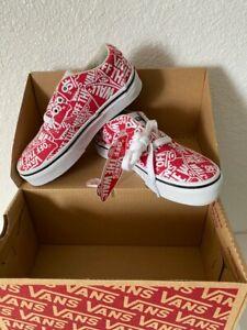 VANS Doheny Kids canvas shoes Size 11