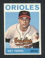 1964 Topps #45 Milt Pappas VGEX Orioles 93705