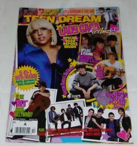 TEEN DREAM MAGAZINE 2010 JUSTIN BIEBER CODY SIMPSON BIG TIME RUSH LADY GAGA