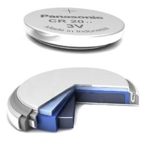 10x CR2032 Knopfzelle 3V 220mAh ø20,0x3,2mm industrial Batterien lose Panasonic