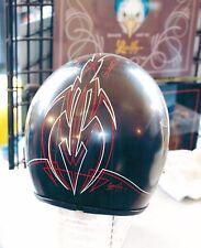 8x10 Handpainted Motorcycle Art Photo Helmet Portfolio Page Airbrush Artist-Gift