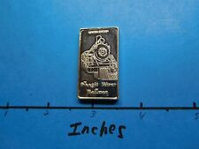 SKAGIT RIVER RAILWAY TRAIN LOCOMOTIVE SEDRO WOOLLEY WASHINGTON 999 SILVER BAR #4