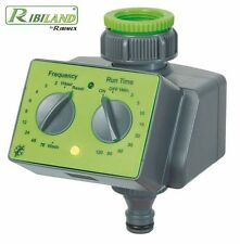 PROGRAMMATORE AUTOMATICO MANUALE timer centralina per irrigazione A BATTERIA 9V