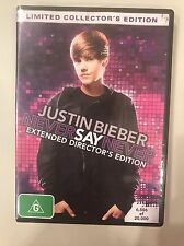 Justin Bieber Never Say Never Extended Director's Edition