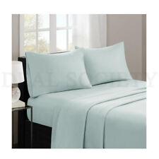 Madison Park Casual Count Cotton Bed Sheets KING Size SEAFOAM 4Pcs Set MP20-1820