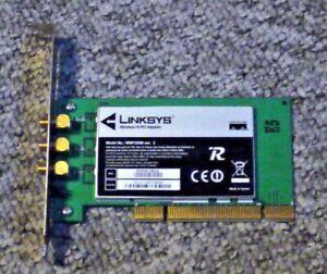 Cisco Systems Linksys WMP300N 300Mbps PCI Wi-Fi wireless card - 3 wifi antennas