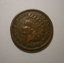 "1908 S Indian Head Penny Key Coin Nice ""We Combine Shipping"" #18-113"