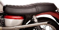 British Customs - BC407-024 - Retro Seat Skin, Black with Perforated Top