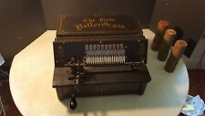 Antique Gem Roller Organ Pinned Cob Reed Player 1901 Music Box * Plays Great *