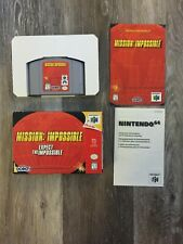 Mission: Impossible (Nintendo 64, 1998) - Box and Cartridge Included