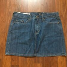Genuine RED ENGINE Womens Vintage Original Denim Jeans Mini Skirt Size 30 H050