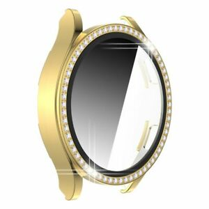 Screen Protector Diamond Bumper Tempered Film Case For Samsung Galaxy Watch 4