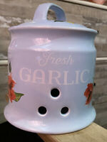 Pioneer Woman Fresh Garlic Holder Spring Bouquet