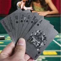 Schwarz Poker Bicycle Spielkarten 54 Karten Tisch Spiele Pokerkarten Zaubertrick