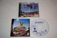 Tony Hawk's Pro Skater 2 Sega Dreamcast Video Game Complete