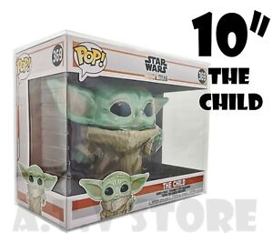 """Vinyl Box Case Protector / Protector / Display case for Funko Pop The Child 10"""""""