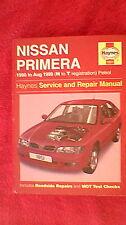 Haynes Service & Repair Manual - Nissan Primera  1990 - 1999  Petrol