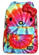Loungefly Hello Kitty Rainbow Tie Dye Backpack Multi Back to School