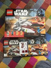 Lego Star Wars Republic Fighter Tanque 75182 (2 Minifiguras solamente)