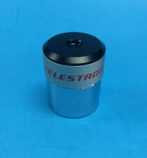 "Celestron / Vixen 10mm 1.25"" Silver Top Telescope Eyepiece ~ With Box ~ RARE"