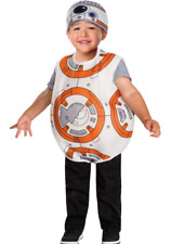 BB-8 Star Wars Costume Toddler 3T 4T Dress Up Pretend Play Boys Girls Disney B16