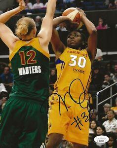 Nneka Ogwumike signed Los Angeles Sparks 8x10 photo autographed LA 9 JSA