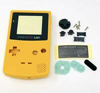 GBC Nintendo Game Boy Color Replacement Housing Shell Screen Lens Yellow USA