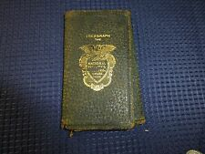 Vintage Tri Fold Wallet Advertising National Fidality Casualty Company Telegraph