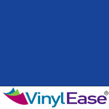 One 12 in x 40 ft Roll Glossy Blue Permanent Craft and Sign Vinyl V0453