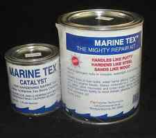 Marine-Tex Epoxy Repair Kit Quart White with 4 Mixing Sticks 4049