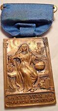 Antique Medal commercial tercentenary of New York, 1614-1914 Bronze Medal / N133