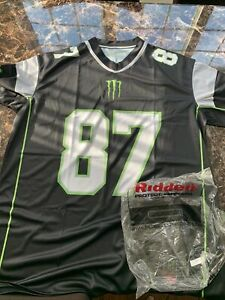 Limited Edition Rob Gronkowski #87 Monster Energy RIDDELL Jersey XL