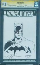 Batman 1 CGC 9.8 SS Norm Rapmund Original art Image United Sketch Dawn Justice