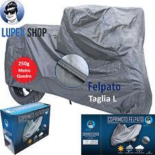 1 TELO COPRIMOTO SCOOTER FELPATO SAGOMATO tg L 232x100x125cm 250gr MQ MOTO
