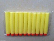 1000pcs Yellow Bullet Darts For NERF Kids Toy Gun N-Strike Round Head