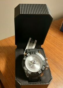 BALTIMORE RAVENS GAME TIME BEAST MENS WATCH. NFL/BEA/BAL. NEW WITH TAGS & CASE