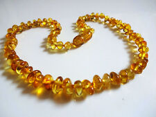 Honey Natural Beads Baltic Amber Baby Necklace 12.6 inch