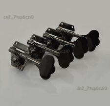 Guitar J bass Vintage Machine Heads Tuners Tuning Pegs Guitar Parts 4PCS BLACK