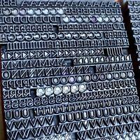 10p PRESTIGE - Bleisatz Bleilettern Druckerei Buchdruck Letterpress Lead Type